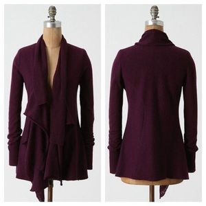 Anthro Sparrow Fresh Perspective Wool Cardigan